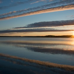 Lake Myvatn sunset