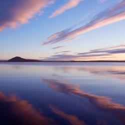 lake myvatn at sunset v2