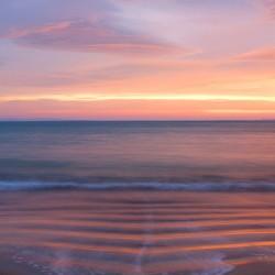 sunrise from cloghane beach lighter